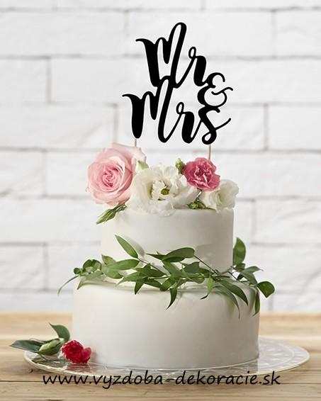 Dekorácia na tortu - MR ... 3b149ca32d7